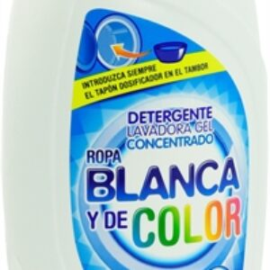 Home Appliances Best Detergents for washing machines BOSQUE VERDE (MERCADONA) CONCENTRATED GEL WHITE AND COLORED CLOTHES